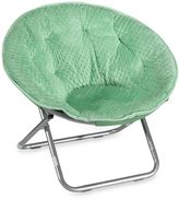 Bed Bath & Beyond Dotted Plush Saucer Chair