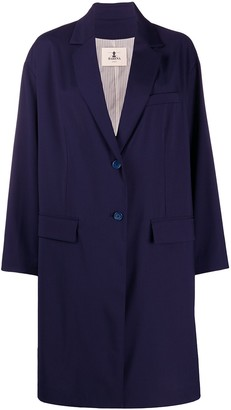Barena Buttoned Boxy Fit Coat