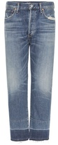 Citizens of Humanity Cora Crop Relaxed Undone Hem Jeans