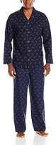 Tommy Bahama Men's Island Washed Cotton Notched Collar Pajama Set
