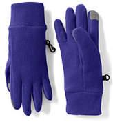 Lands' End Girls ThermaCheck 100 Gloves-Black