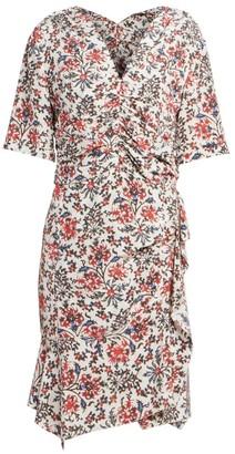 Isabel Marant Arodie Floral Sheath Dress