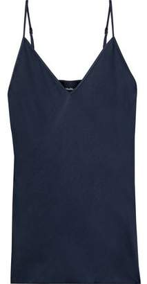 Max Mara Lucca Washed Silk-blend Camisole