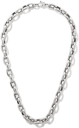 """As 29 18kt White Gold 18"""" Bold Links Chain Necklace"""