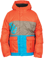 686 Burnt Orange Color Block Elevate Insulated Jacket - Boys