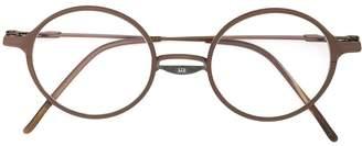 The Viridi-anne layered style round frame sunglasses
