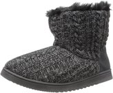 Dearfoams Women's Cable Knit Boot