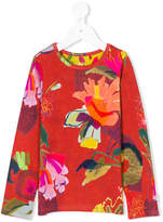 Oilily floral print long sleeve T-shirt