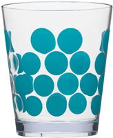 Zak Designs Dot Set of 6 Plastic Double Old-Fashioned Glasses