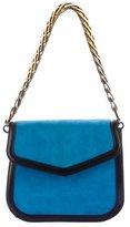 Loewe Suede V Shoulder Bag