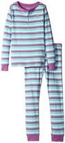 Hatley Icy Stripes Henley Pajama Set (Toddler/Little Kids/Big Kids)