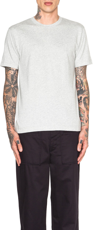 Comme des Garcons 'Forever' Cotton Tee in Top Grey | FWRD