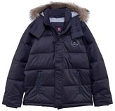 Quiksilver Black Red Bud Water Repellent Parka