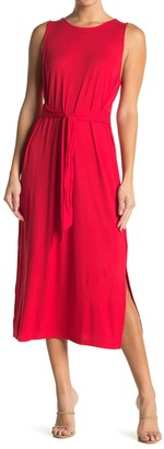 Double Zero Sleeveless Knit Midi Dress
