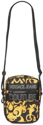 Versace Jeans Couture Baroque Printed Crossbody Bag