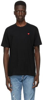 Comme des Garcons Black Small Heart Patch T-Shirt