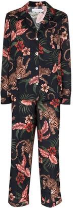 Desmond & Dempsey Soleia printed pyjama set