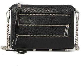 Rebecca Minkoff Mini 5 Zip Leather Crossbody