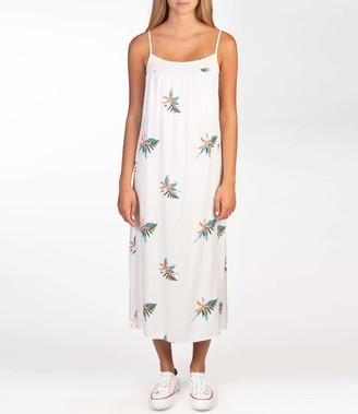 Hurley Women's W Quin Midi Dress Casual