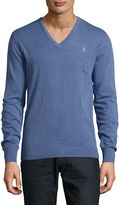 Bruun And Stengade Cotton V-Neck Sweater