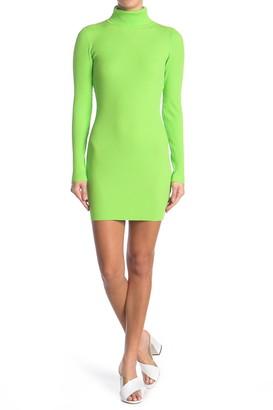 re:named apparel Mona Turtleneck Sweater Dress