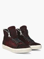 John Varvatos Reed Zip Collar High Top Sneaker