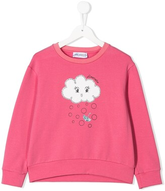 Simonetta Cloud Print Sweatshirt