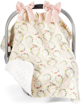 Pink Floral Car Seat Cover