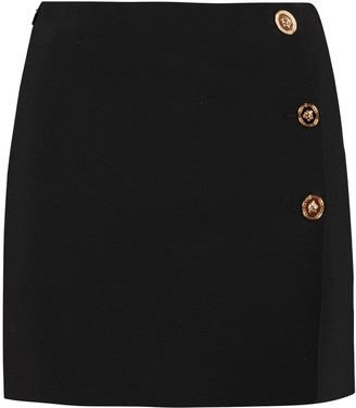 Versace Knitted Mini Skirt