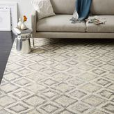 west elm Prism Wool Rug - Slate