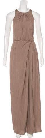 Lela Rose Sleeveless Jacquard Dress