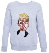 Ashish 'Miley Cyrus' sequin sweatshirt