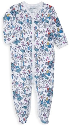 Roller Rabbit Baby's Charlie & Friend Floral Footie Pajama