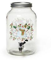 Pfaltzgraff Winterberry 125 oz. Snowman Beverage Dispenser