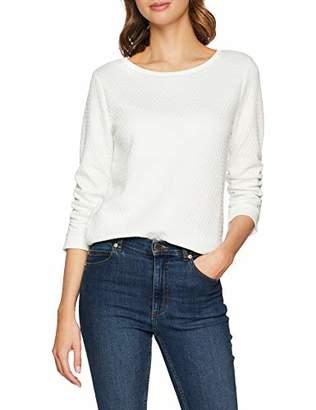 Tom Tailor NOS) Women's 1007905 Sweatshirt, (White 10332), X-Large