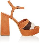 Derek Lam Women's Birgitta Colorblocked Suede Platform Sandals