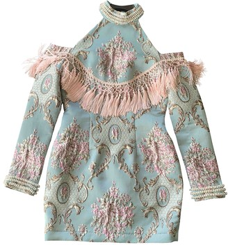 Asilio Blue Silk Dress for Women