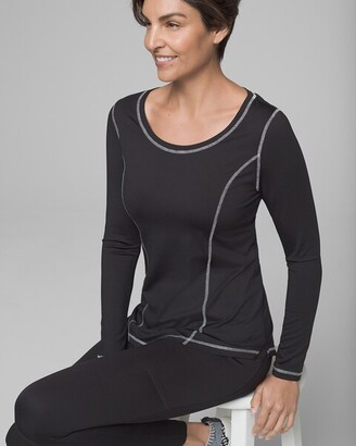 Soma Intimates Sporty Long Sleeve Top