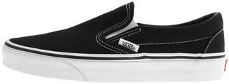 Vans Classic Slip On Trainers Black