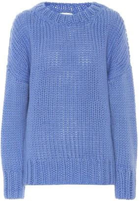 Dries Van Noten Wool and mohair sweater