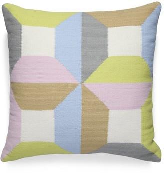 Jonathan Adler Harlequin Blocks Pillow
