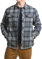 White Sierra Baz Az Plaid Shirt Jacket - Fleece Lined (For Men)