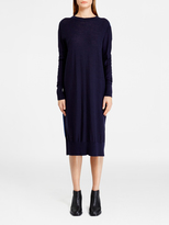 DKNY Pure Colorblock Dress With Woven Back