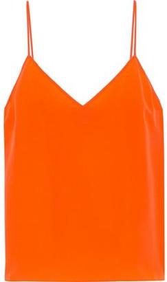 Rag & Bone Astrid Neon Silk Crepe De Chine Camisole