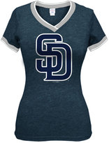 5th & Ocean Women's San Diego Padres Triple Flock T-Shirt