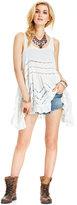 Free People Sleeveless Printed Trapeze Dress
