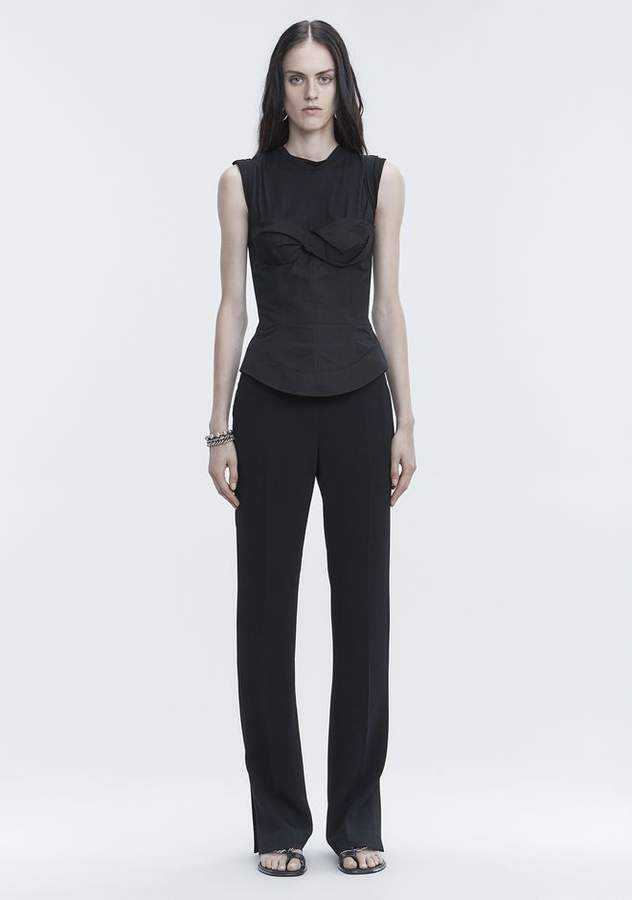 Alexander Wang TROUSERS WITH SIDE SNAP CLOSURE PANTS
