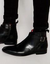 Base London Albert Leather Jodphur Boots