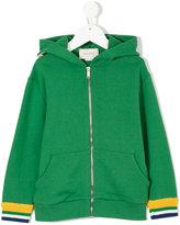 Gucci Kids dragon patch zipped hoodie