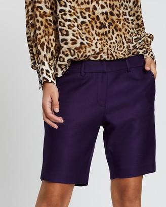 Lindsay Nicholas New York Long Miny Shorts